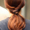 Summertime-Hairstyles-Twisted-Ponytail