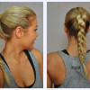 Women Hairstyles for the Gym and Exercising