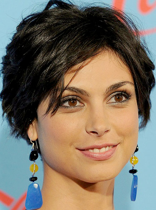 Homeland TV series celebrity short layered hairstyle