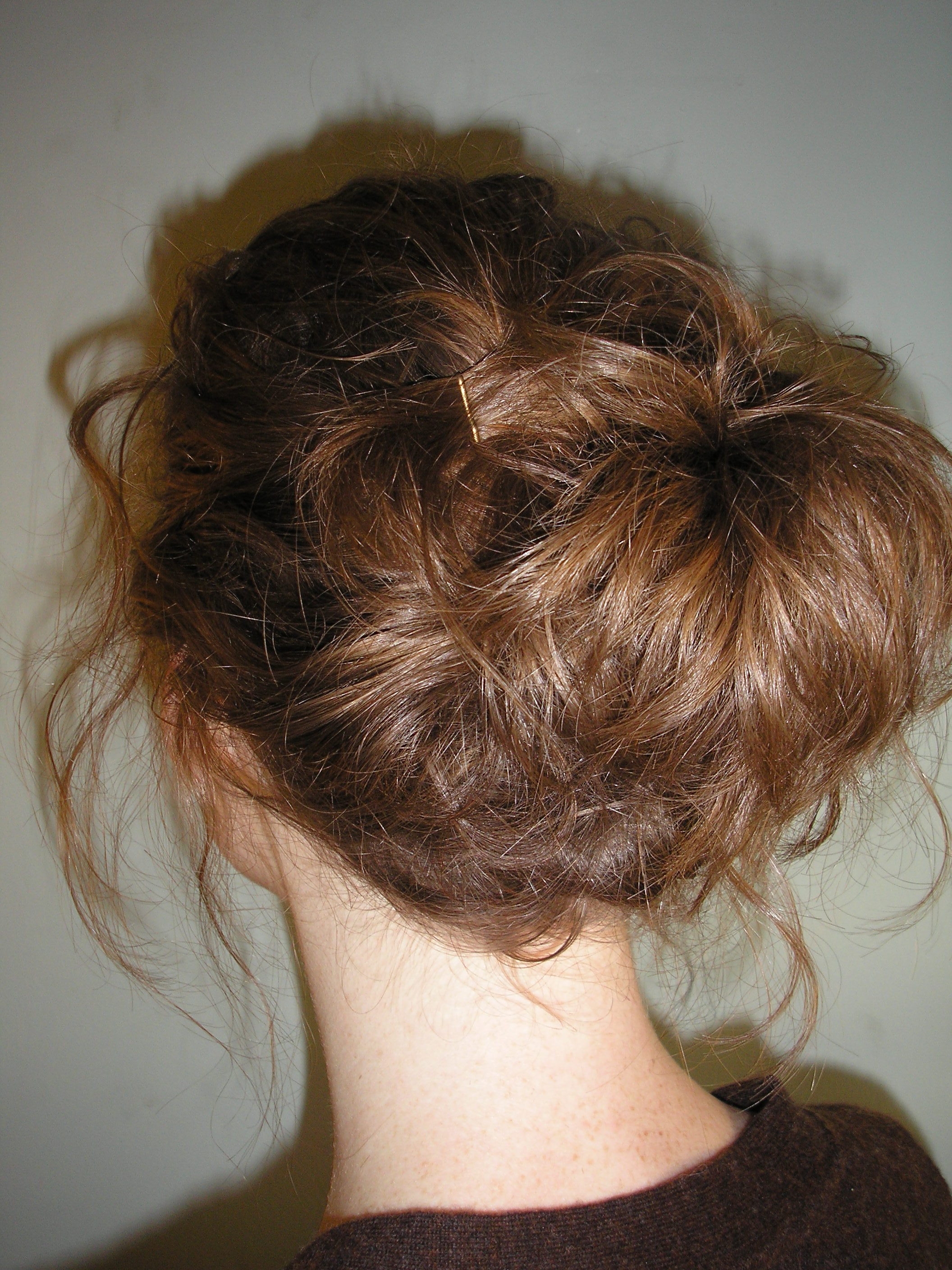 Easy Updo Hairstyles for Curly Hair