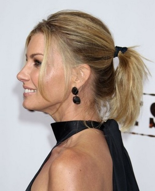 Hairstyles For Short Hair How To Do : How to do a PonyTail Hairstyle for Short Hair - Women Hairstyles