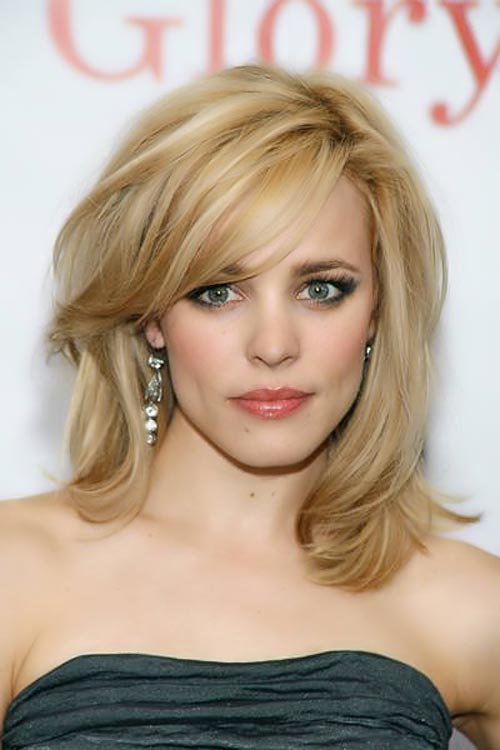 Side Swept Bangs to Look Younger - Women Hairstyles