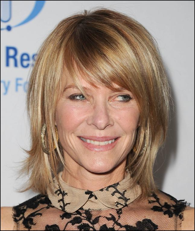 Beautiful Bangs For Older Women