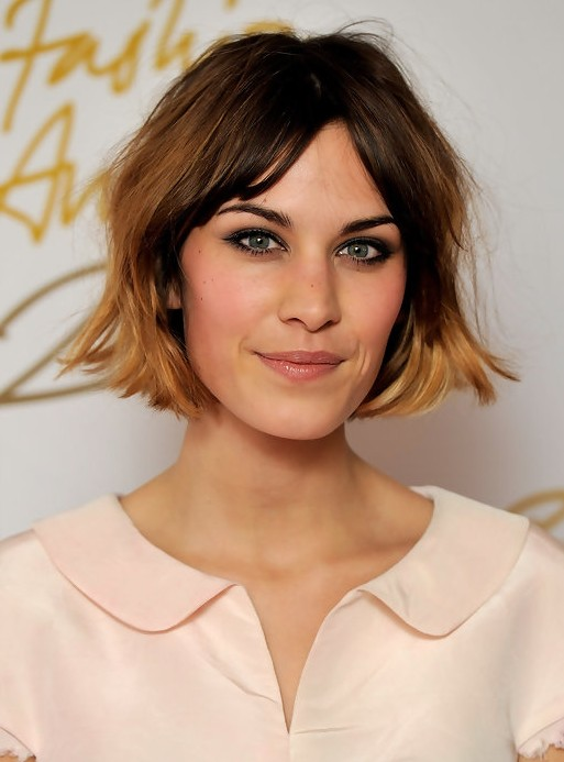 celebrities with choppy bob hairstyles women hairstyles. Black Bedroom Furniture Sets. Home Design Ideas