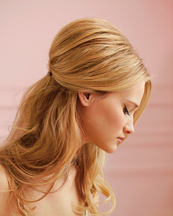 Hairstyles Up And Down : Half Up and Half Down Bridal Hairstyles - Women Hairstyles