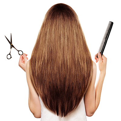How To Hair Cut : The first thing you need to cut your hair at home is good scissors and ...