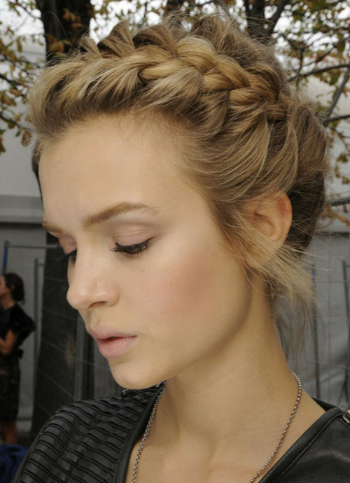 Phenomenal Cute French Braid Hairstyle For Prom Women Hairstyles Hairstyle Inspiration Daily Dogsangcom