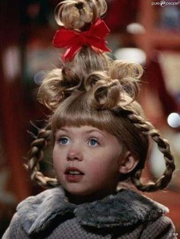 Grinch Cindy Lou Who Christmas Hairstyle Women Hairstyles