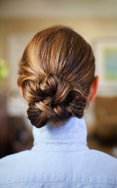 Easy Updo S That You Can Wear To Work Women Hairstyles