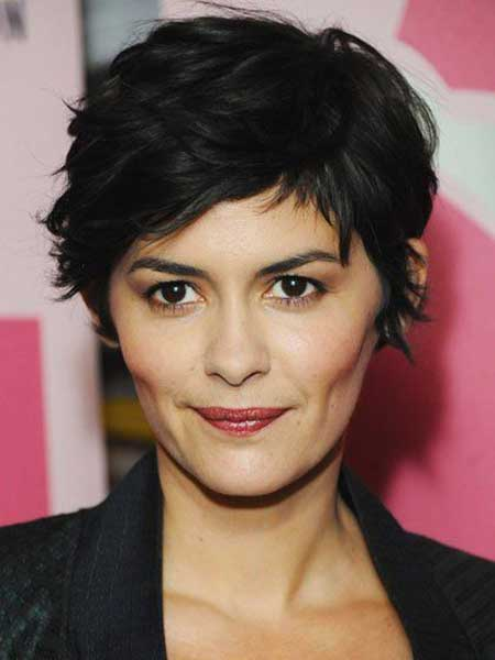 Incredible Tousled Hairstyles For Short Hair Women Hairstyles Short Hairstyles Gunalazisus