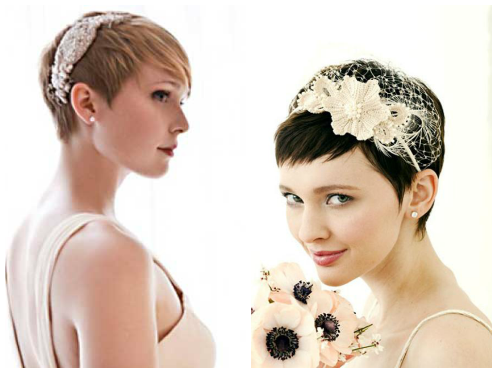 Short Wedding Hairstyles For Women | Trend Hairstyle and Haircut Ideas