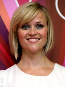 Strange Reese Witherspoon Angled Bob Side Swept Bangs Haircut Women Hairstyles For Women Draintrainus