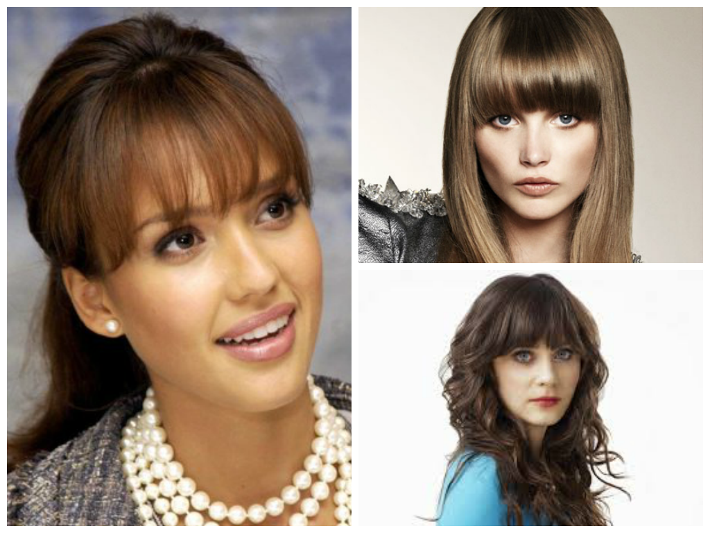 blunt-bangs-for-women-with-oval-faces