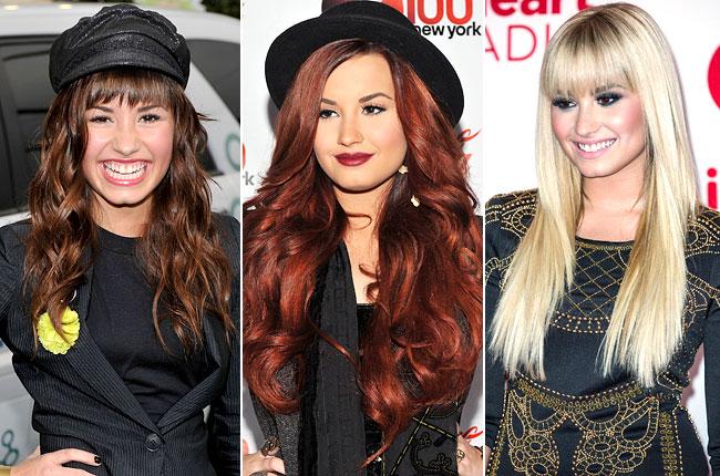 demi-lovato-hair-evolution