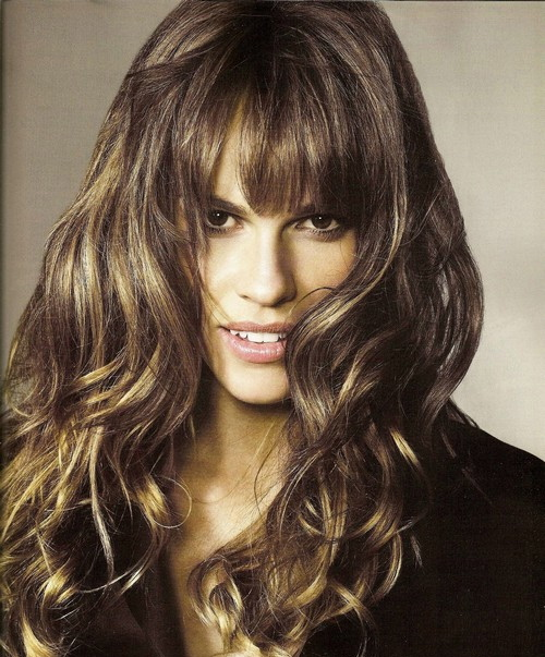Haircut Ideas for Curly Hair with Bangs - Women Hairstyles