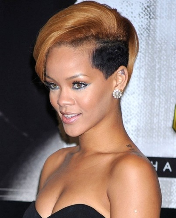 Excellent Celebrities With A Shaved Edgy Look Hairstyle Women Hairstyles Short Hairstyles For Black Women Fulllsitofus