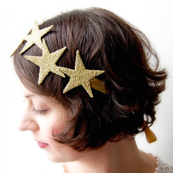 star-studded-headband-for-new-years - Women Hairstyles