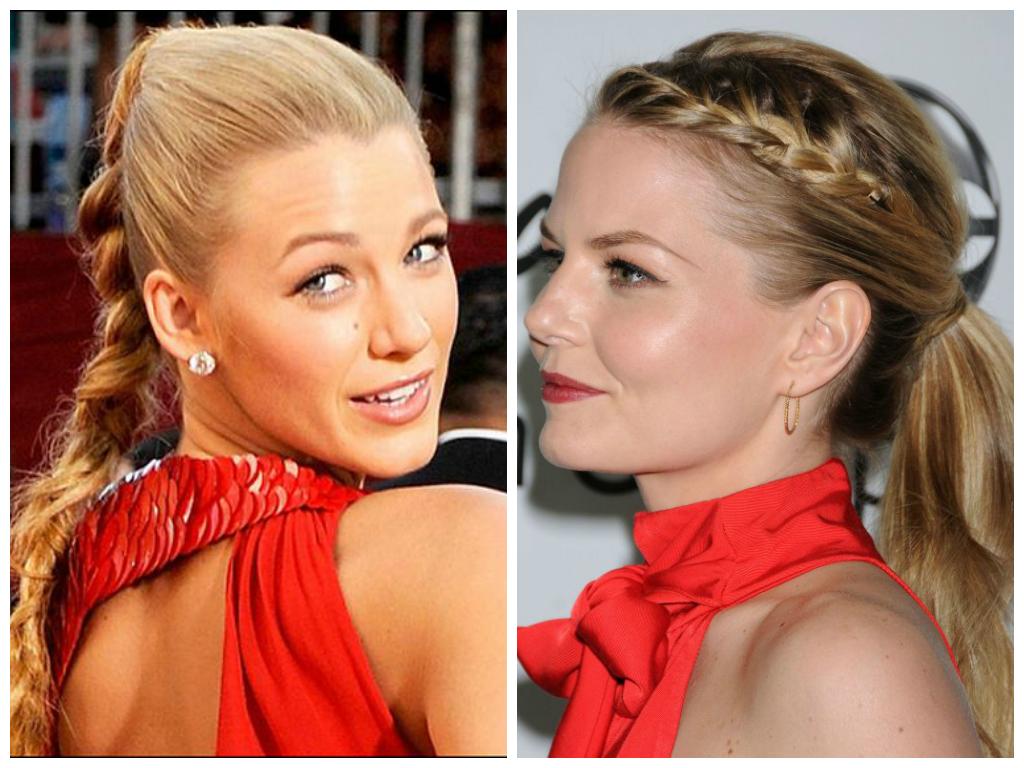trendy-braided-ponytails