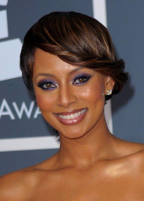 Astonishing Keri Hilson Side Twist Hairstyle Women Hairstyles Short Hairstyles For Black Women Fulllsitofus