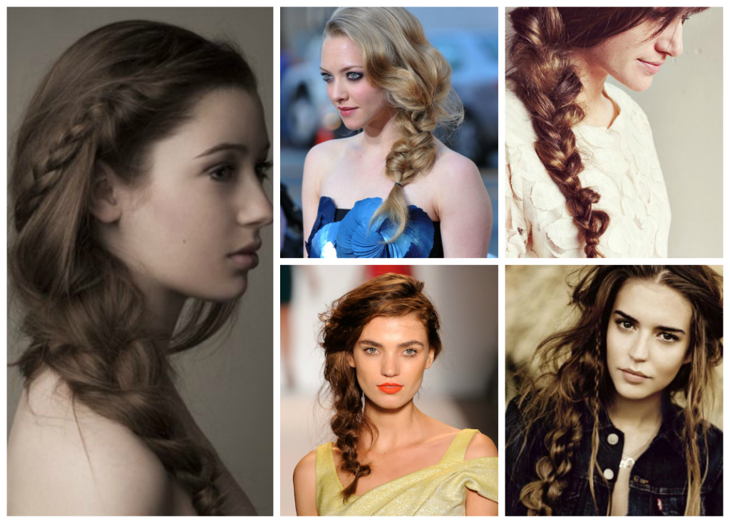 Messy-Side-Braid-Hairstyles