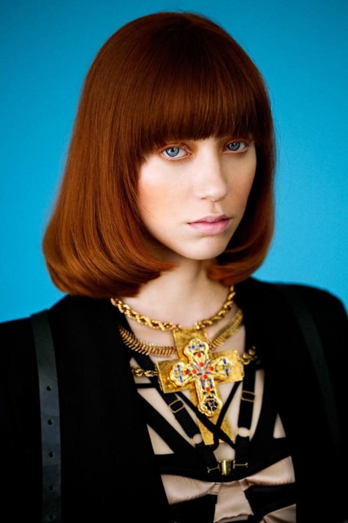 Medium Length Blunt Hairstyles - Women Hairstyles