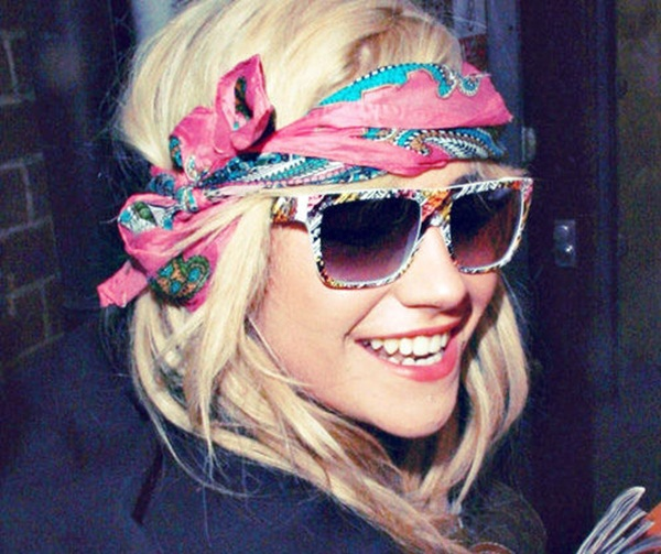 Superb Bandanas Make A Great Hair Accessory Women Hairstyles Hairstyle Inspiration Daily Dogsangcom