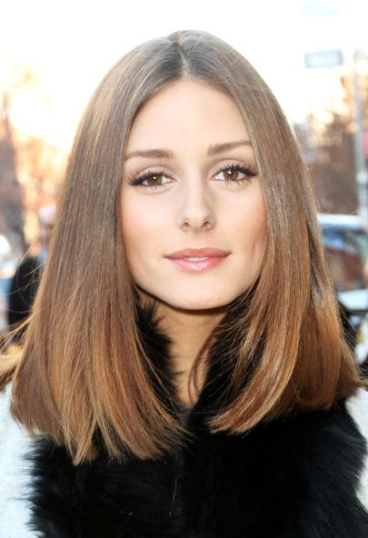 Shoulder Length Hairstyle Straight Hair Haircuts Black