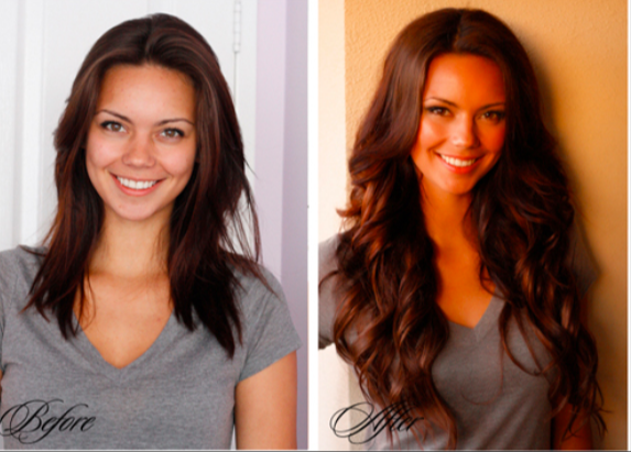 Before-and-After-Hair-Extensions