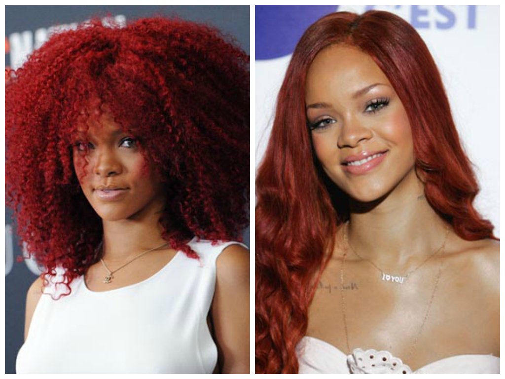 Rihanna-Red-Hair