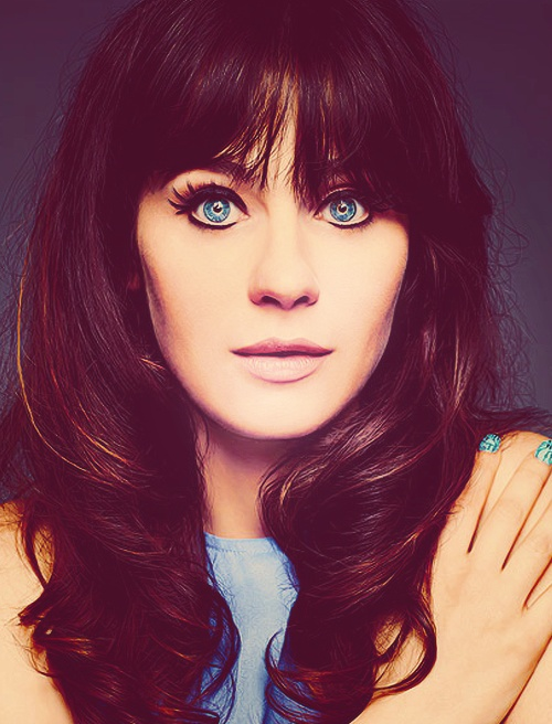 Zooey-Deschanel-Party-Hairstyle