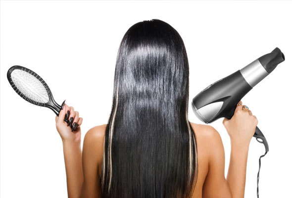 blow-dry-your-hair-straight