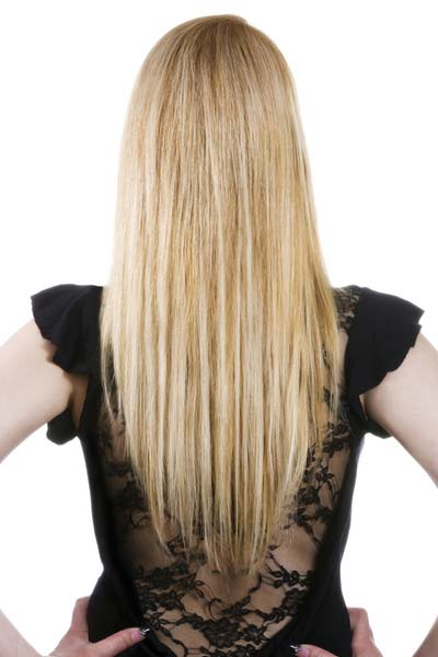 Layered Hair Back View V Shape 2015 New , Hair Style