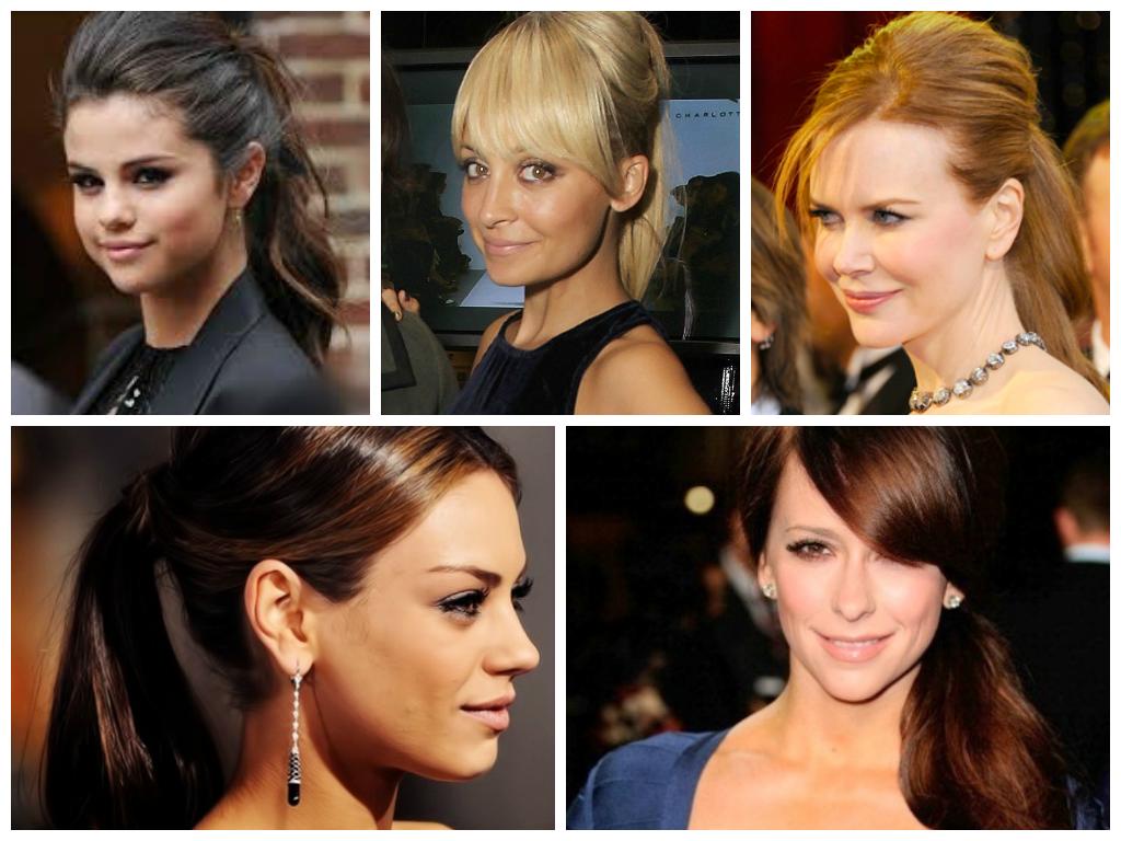 Awe Inspiring The Best Ponytail For Your Face Shape Women Hairstyles Short Hairstyles For Black Women Fulllsitofus