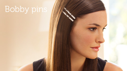 Different bobby pin hairstyles
