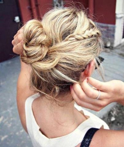 Braided-Bun-Hairstyle-Pinterest