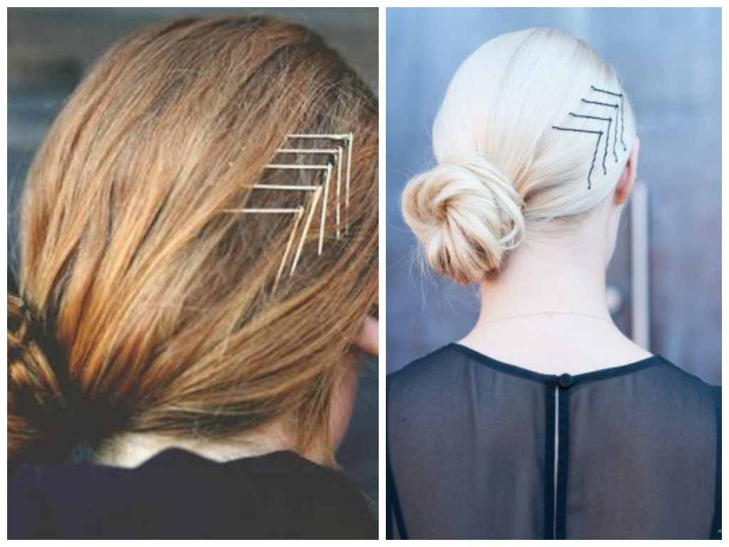 Chevron-Bobby-Pin-Hairstyle