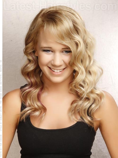 Great Ideas For Long Wavy Hairstyles