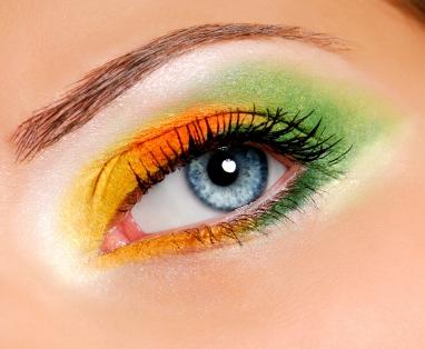 Shadow color eye eyes