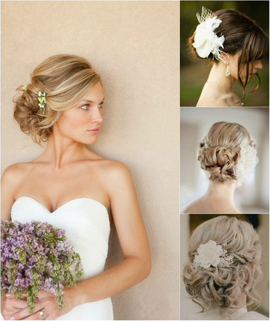 Wedding Hairstyle With Hair Extensions: Side Hairstyles For Parties And Weddings