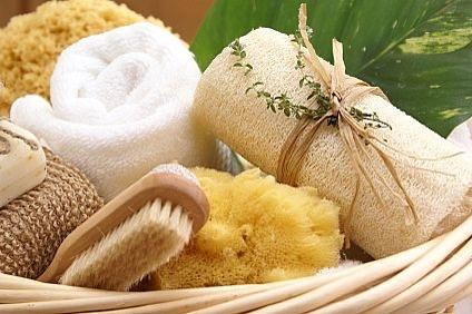 Skin body exfoliation use