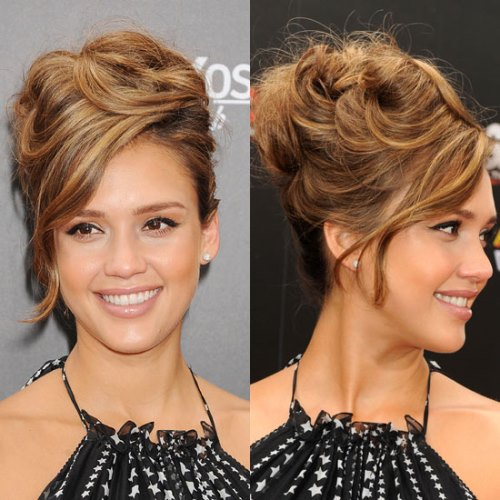 Choose hairstyle according to your wedding dress women hairstyles