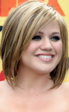 short-hairstyle-with-highlights-for-round-face