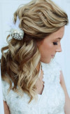 loose-curls-half-up-half-down-wedding-hairstyle
