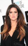 Khloe-Kardashian-Two-Toned-Hair