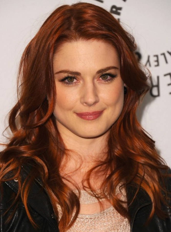 Curly Hairstyle Red Hair Women Hairstyles