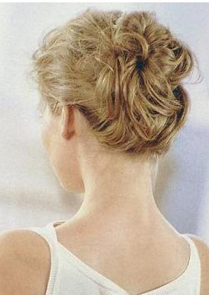 How to do an Easy Updo for Short Hair - Women Hairstyles