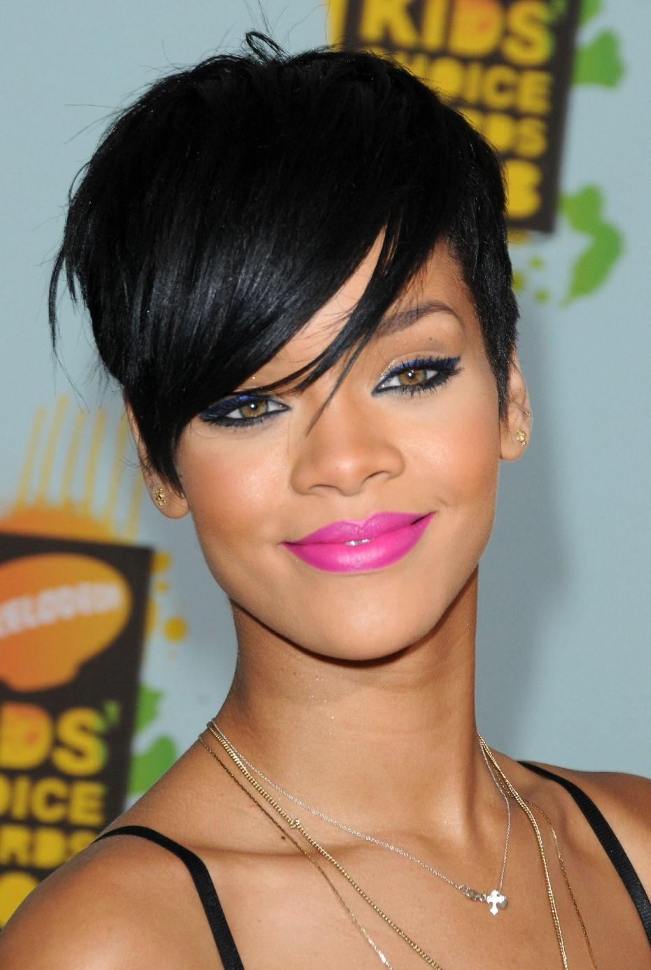 style hair cuts rihanna featuring a pixie haircut hairstyles 1565