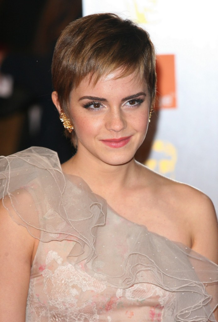 short cropped haircut for fine hair