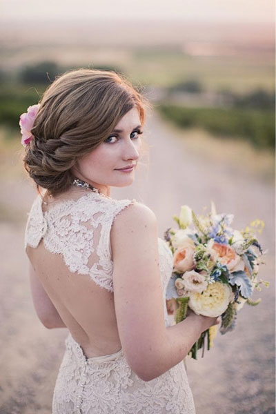 Wedding Hairstyle That Covers Your Ears