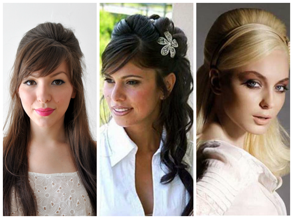 wedding hairstyles half up down with bangs - hairstyles by unixcode